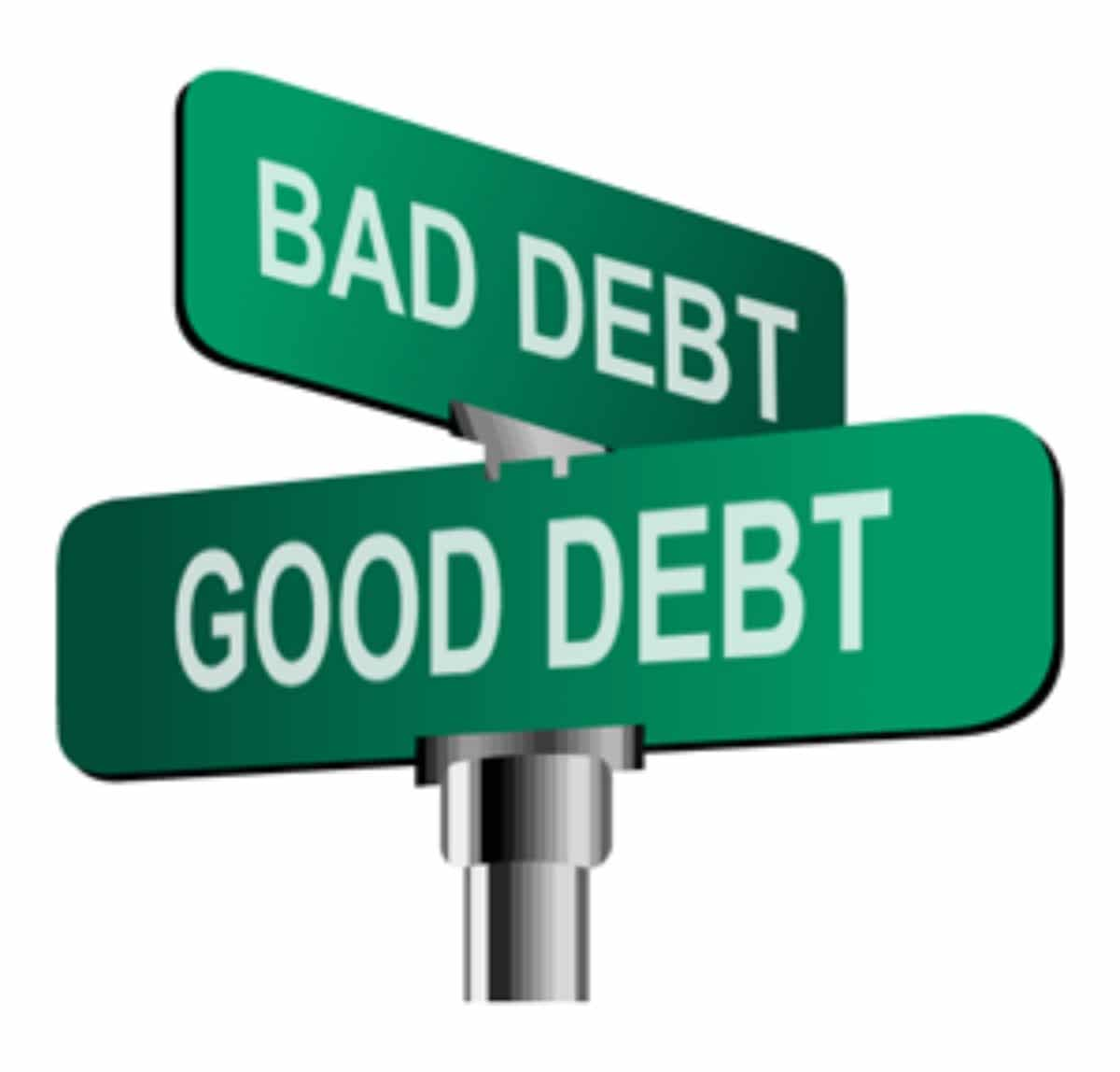 Good Debt vs Bad Debt