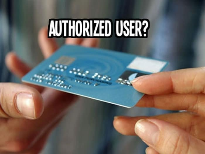 Authorized User Accounts for Establishing Credit