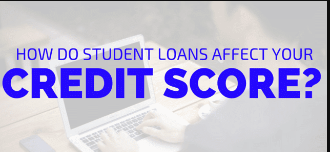 how student loan and credit score
