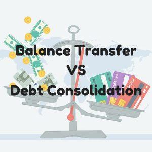 Balance Transfers Vs. Consolidation Loans