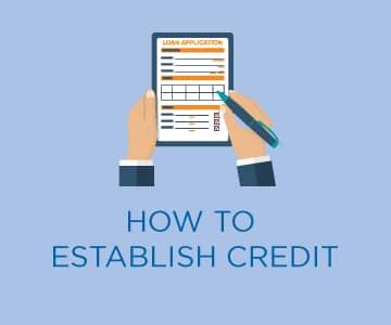 Establish Credit