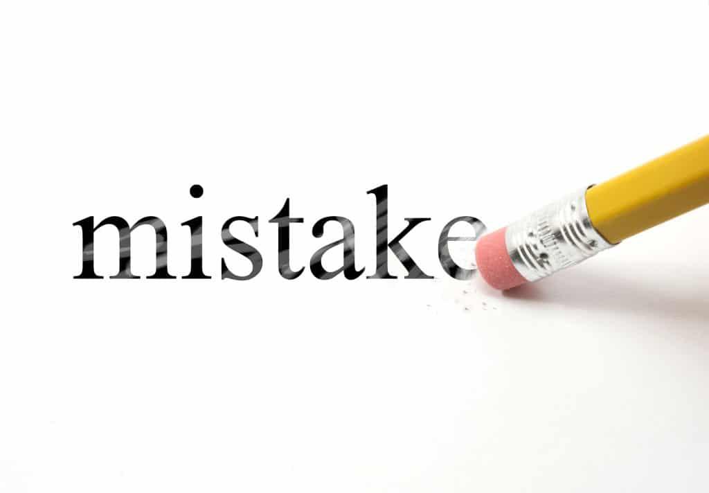 Same Mistakes