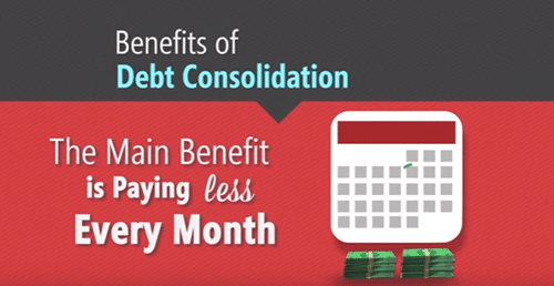benefits of debt consolidation